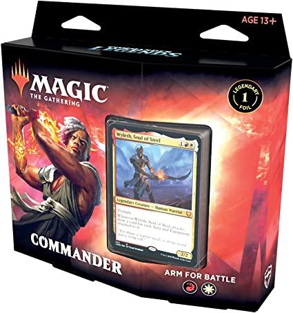 deck commander legends arm for battle